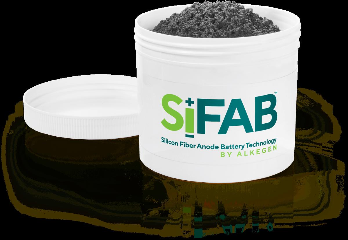Sample Tub of SiFAB